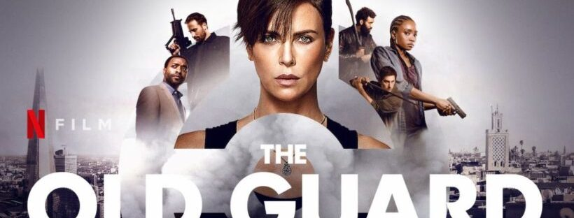 the old guard movie banner netflix