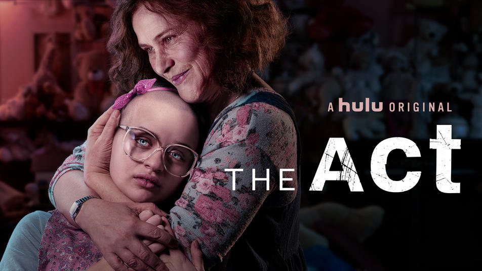 The Act TV poster with Patricia Arquette cradling Joey King