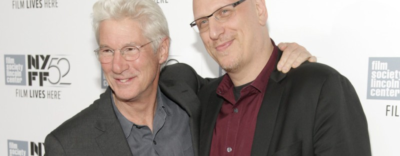 Richard Gere and Oren Moverman at the NYFF