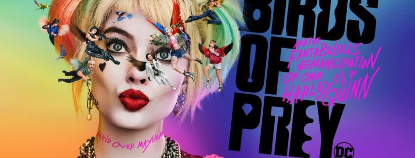 birds of prey harley quinn movie poster