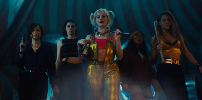 The Birds of Prey - Margot Robbie, Mary Elizabeth Winstead, Rosie Perez, Jurnee Smollett