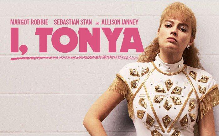 I Tonya movie poster with Margot Robbie playing Tonya Harding