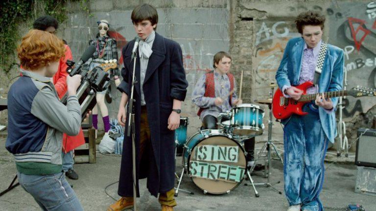 Sing Street band playing music