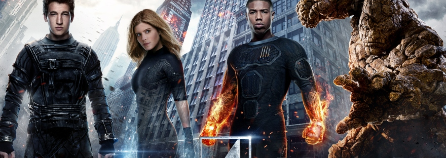 fantastic 4 movie poster banner