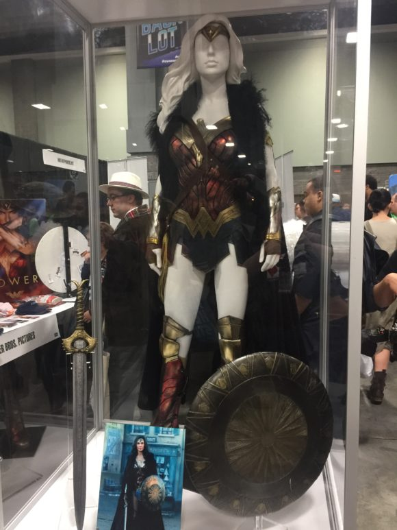 wonder woman fur costume at awesome con in washington, dc