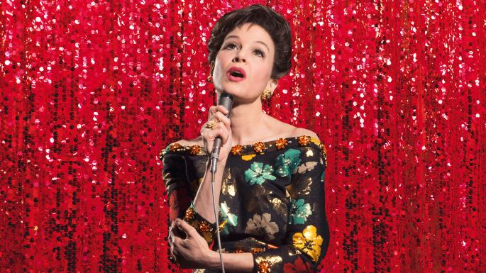 Renee Zellweger singing as Judy Garland in Judy