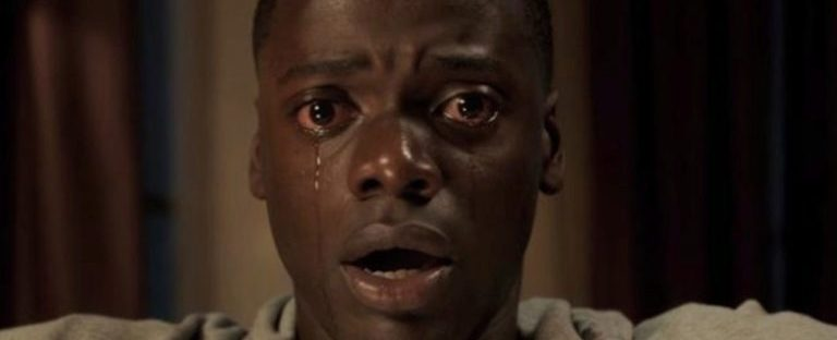 daniel kaluuya tear going down his face in get out movie