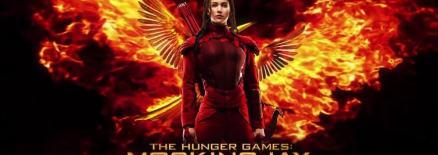 The Hunger Games Mockingjay Part 2 with Jennifer Lawrence wings