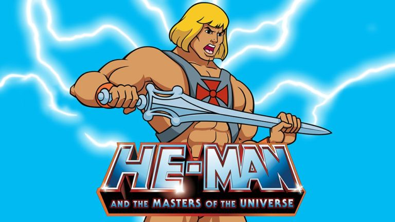 He-Man and the Masters of the Universe banner
