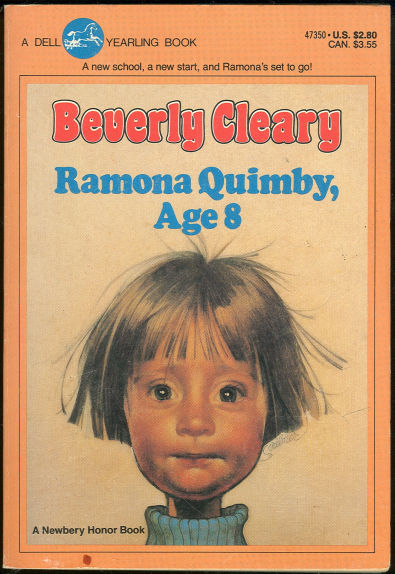 Ramona Quimby age 8 book cover hair