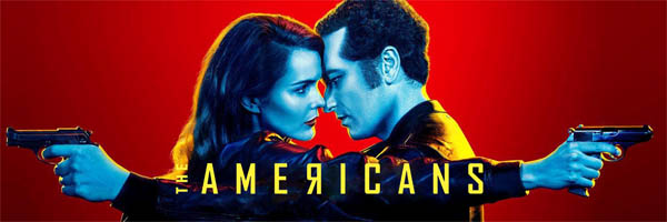 Matthew Rhys and Keri Russell guns drawn for The Americans