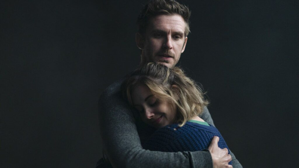 the rental alison brie and dan stevens hugging