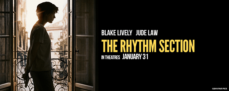 the rhythm section movie poster blake lively
