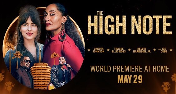the high note movie banner