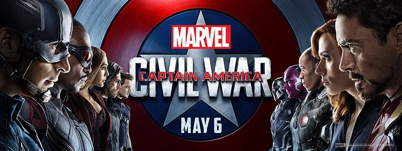 Captain America: Civil War versus banner