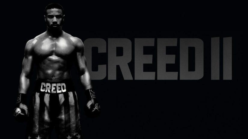 Michael B Jordan boxing uniform in Creed II