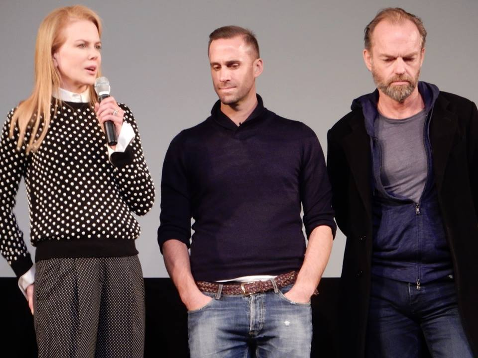 Joseph Fiennes, Nicole Kidman, and Hugo Weaving at Sundance 2015 for Strangerland