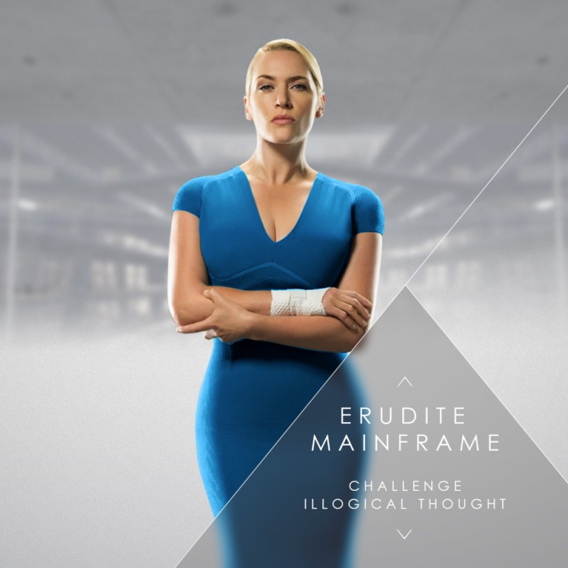Kate Winslet character poster for Insurgent