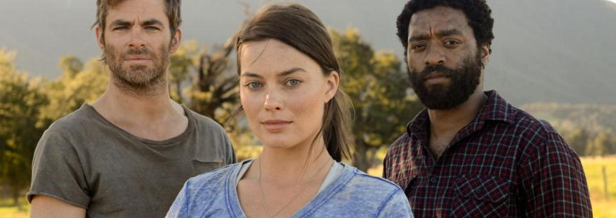 Margot Robbie, Chris Pine, and Chiwetel Ejiofor in Z for Zachariah