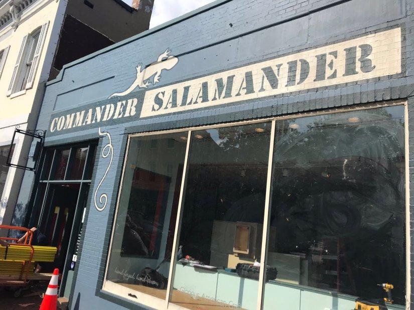 Commander Salamander in Georgetown for Wonder Woman