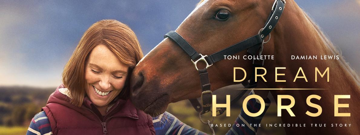 Dream Horse movie banner Toni Collette