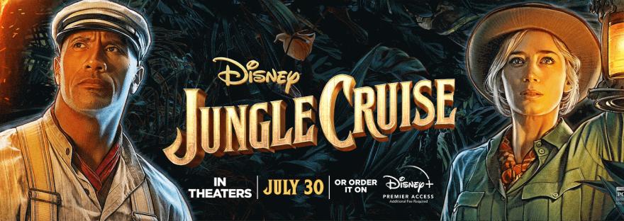 Jungle Cruise Dwayne Johnson Emily Blunt cartoon picture