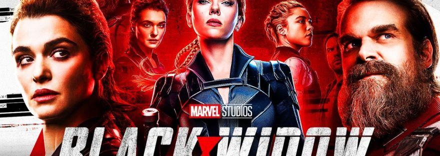 Black Widow Marvel Movie Banner