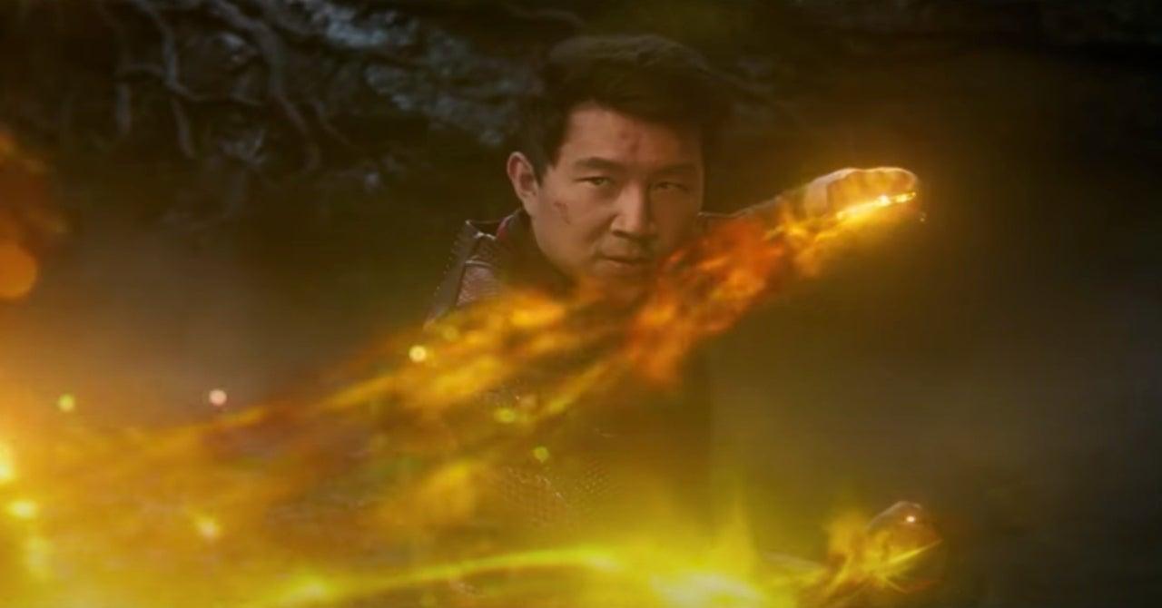 Shang-Chi Simi Liu rings hands